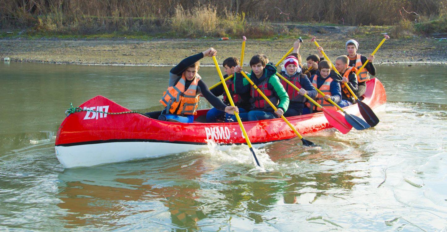 Водный фестиваль «Зимние гонки» Славянск-на-Кубани