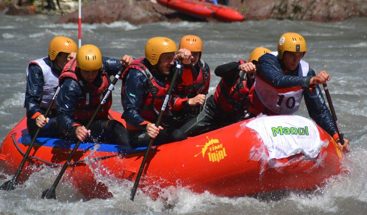 Тренировочные сборы по рафтингу и спортивному туризму на водных дистанциях