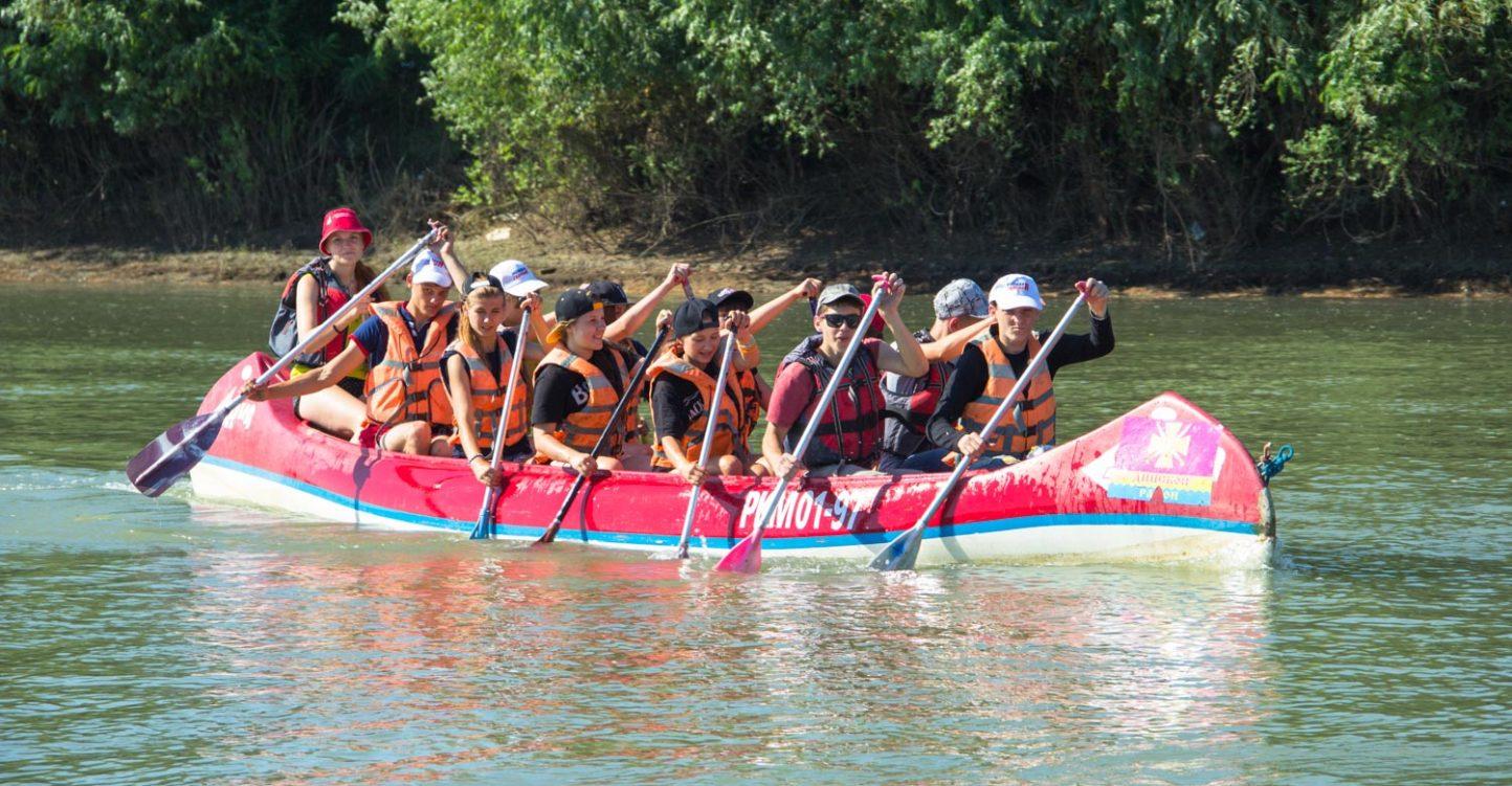 Водный лагерь поход «Славянская кругосветка»