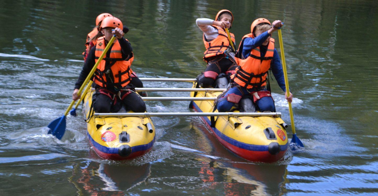 Соревнования по спортивному туризму «дистанция-водная» «ДРЕЙФ»