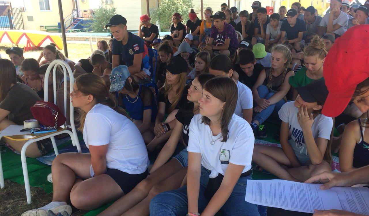 «Язык жестов» в в лагере «Маяк»