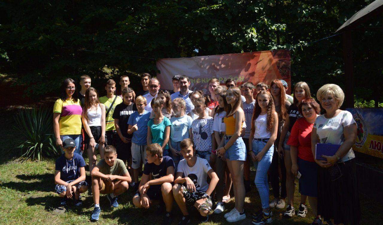 Встреча заместителя министра образования, науки и молодежной политики Краснодарского края с молодежью Успенского района