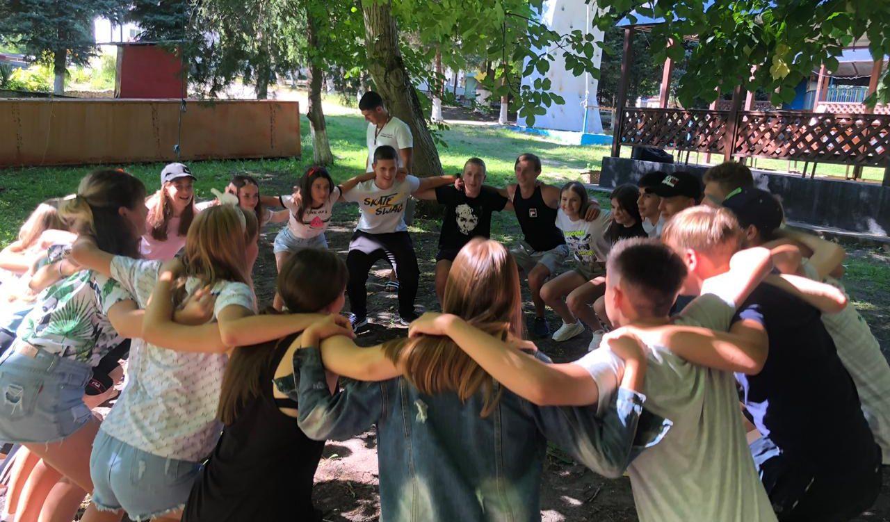 Заезд участников 5 краевой профильной смены в лагере «Траектория»