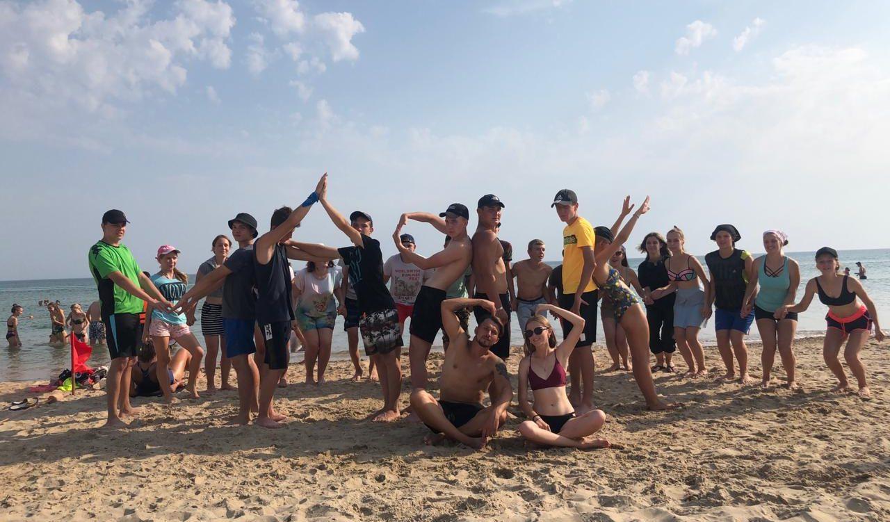 Спортивный день в лагере «Маяк»