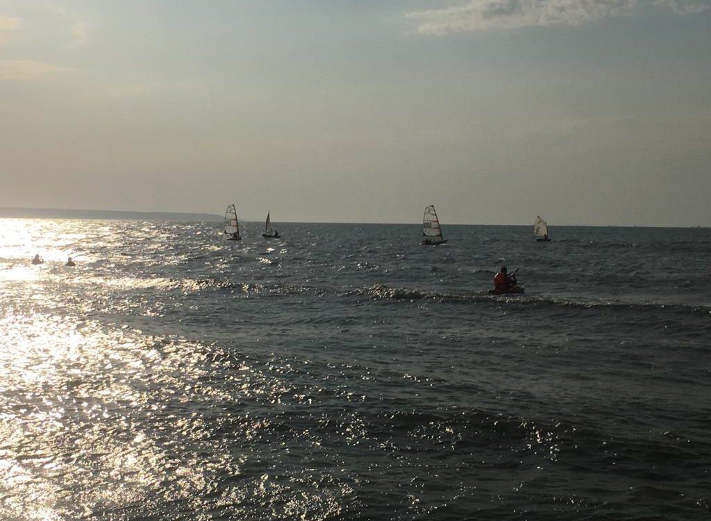 Завершились тренировочные сборы «На гребне волны»