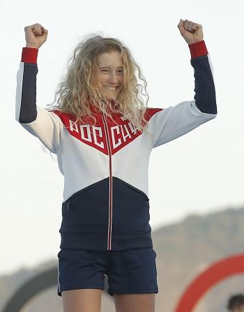 Стефания Елфутина в третий раз признана лучшей яхтсменкой года.