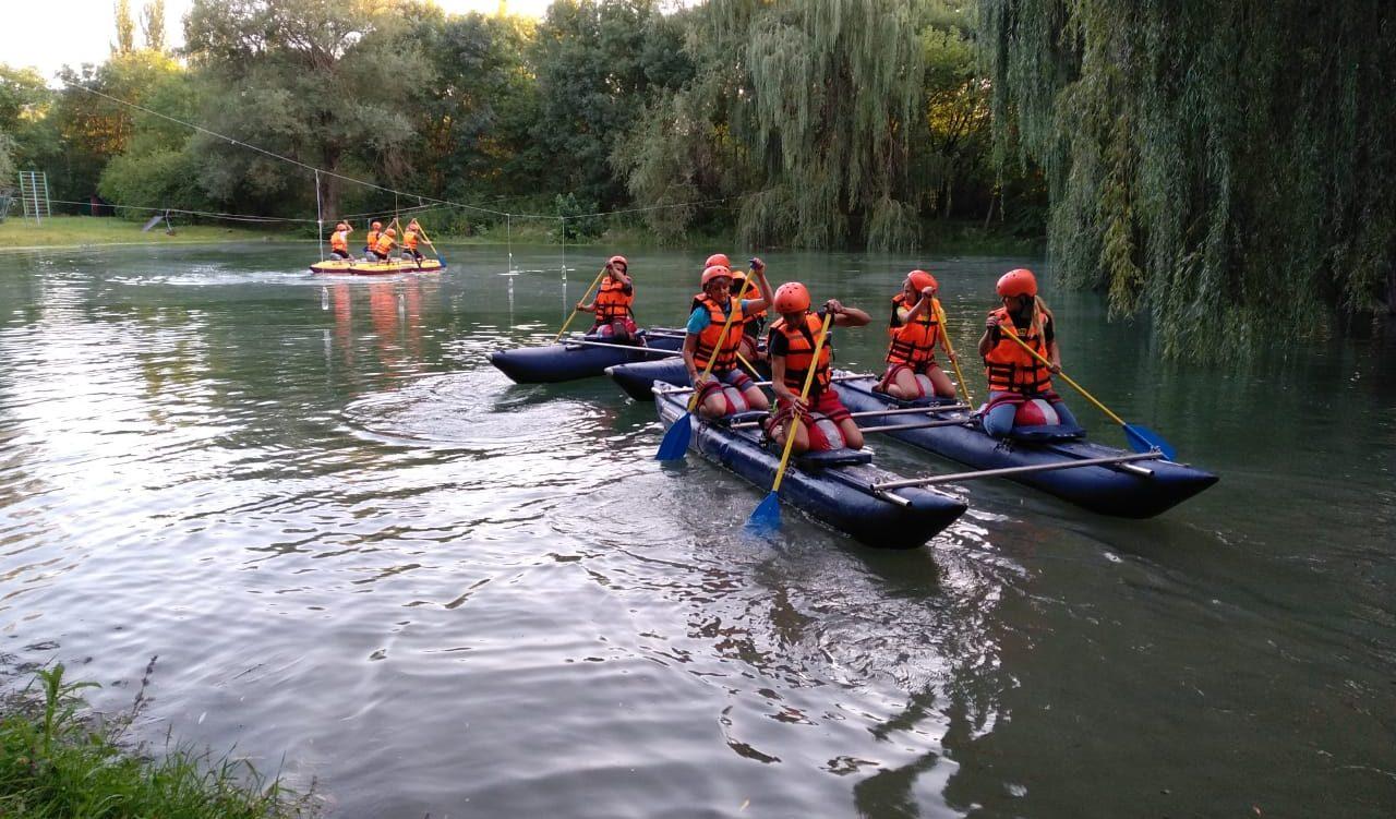 тренировочные сборы по рафтингу и водному туризму в Отрадненском районе