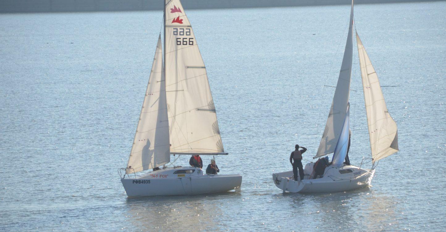 Тренировочные сборы по парусному спорту на Краснодарском водохранилище 18-19 августа