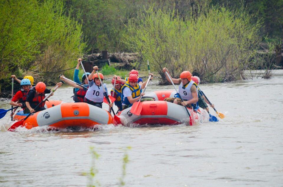 Краевой фестиваль «Горная вода» в Лабинском районе