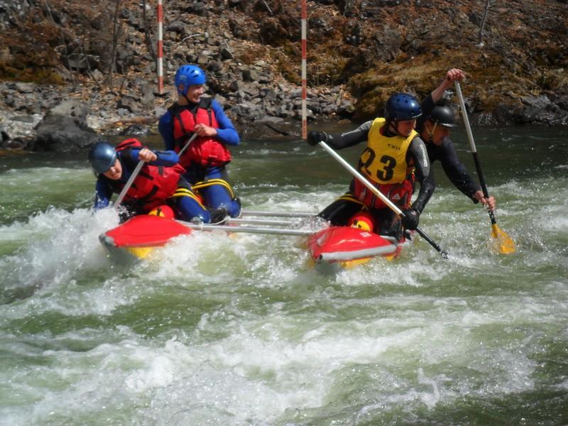 Краевые соревнования по водному туризму «Старт 100» в Отрадненском районе