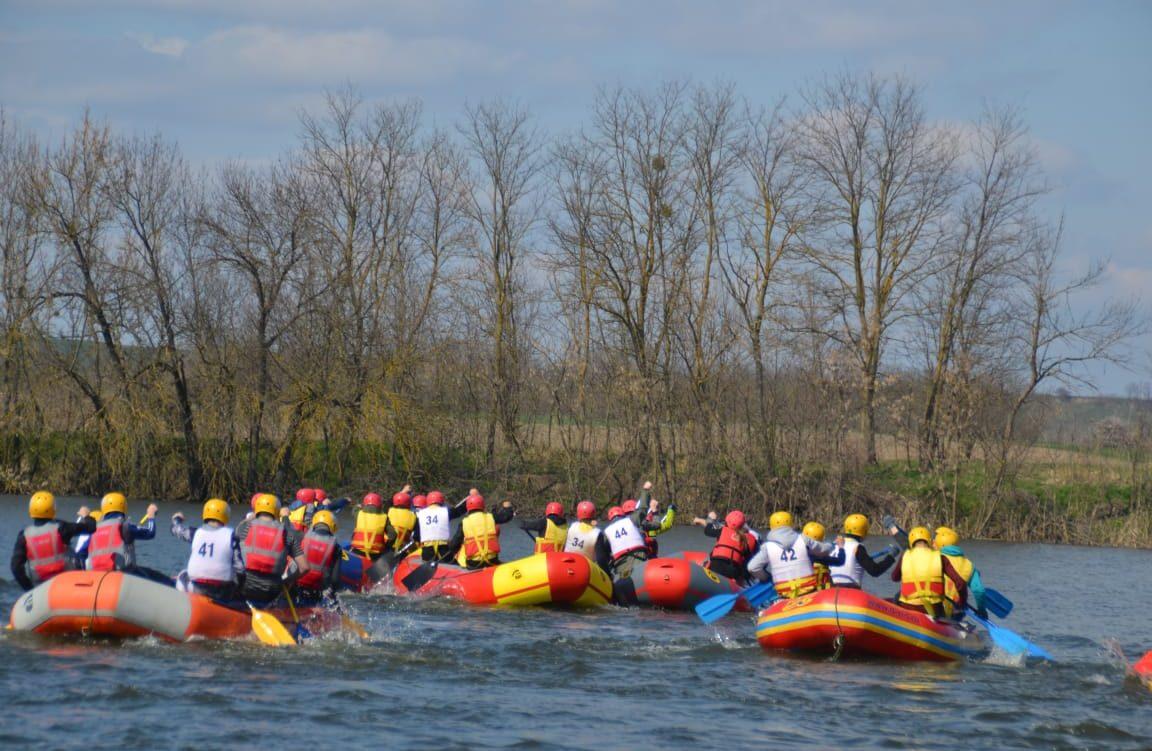 Первенство Краснодарского края по рафтингу и спортивному туризму на водных дистанциях