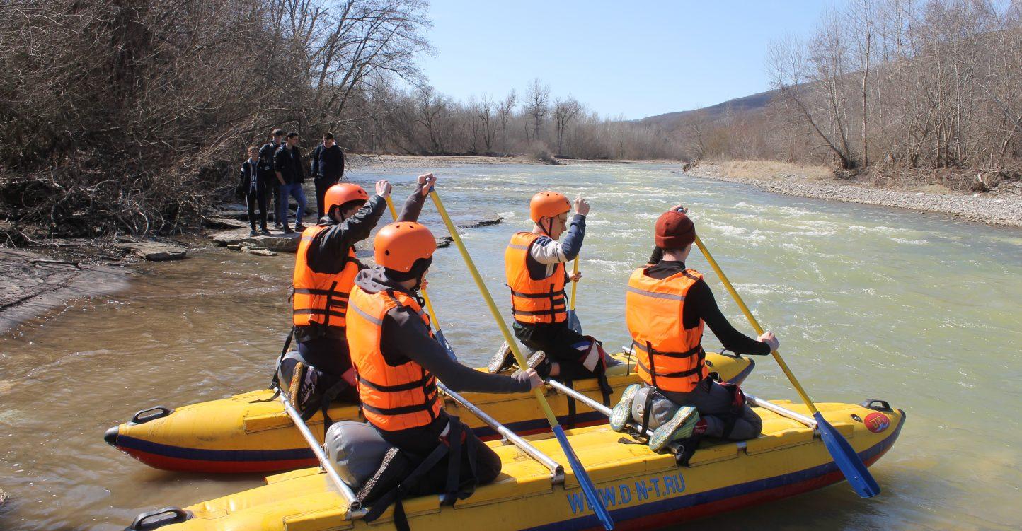 Соревнования по спортивному туризму «дистанция – водная» «Дрейф» 19-21 апреля