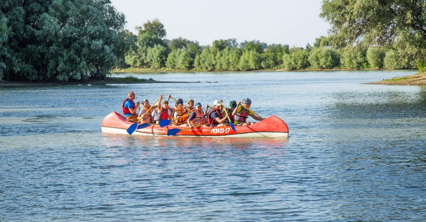 Спортивно-туристский водный лагерь-поход «Славянская кругосветка»