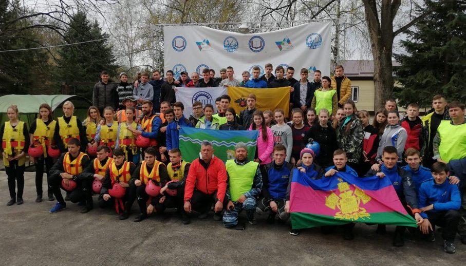 В Лабинском районе стартовал чемпионат Краснодарского края по рафтингу