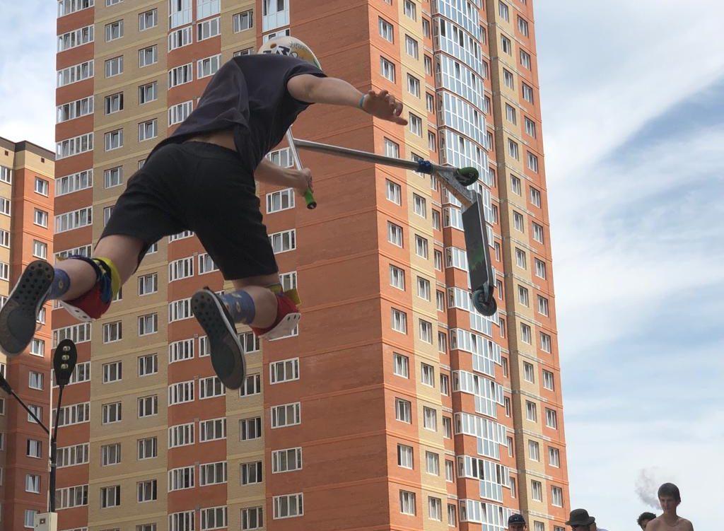 Скейт-парк на ул. Героя Яцкова, 9, корп. 2 «The Kuban eXtreme games»