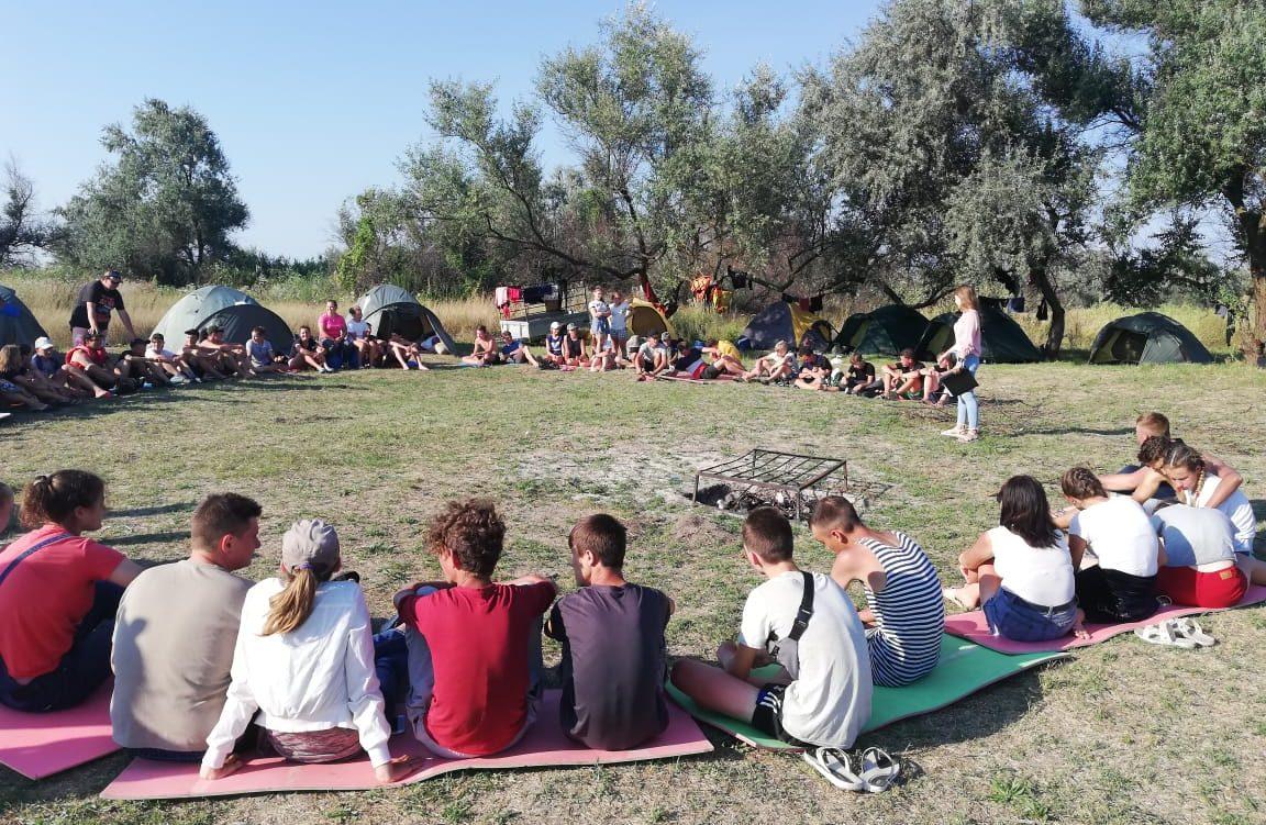 встреча со специалистами в лагере «Славянская кругосветка»