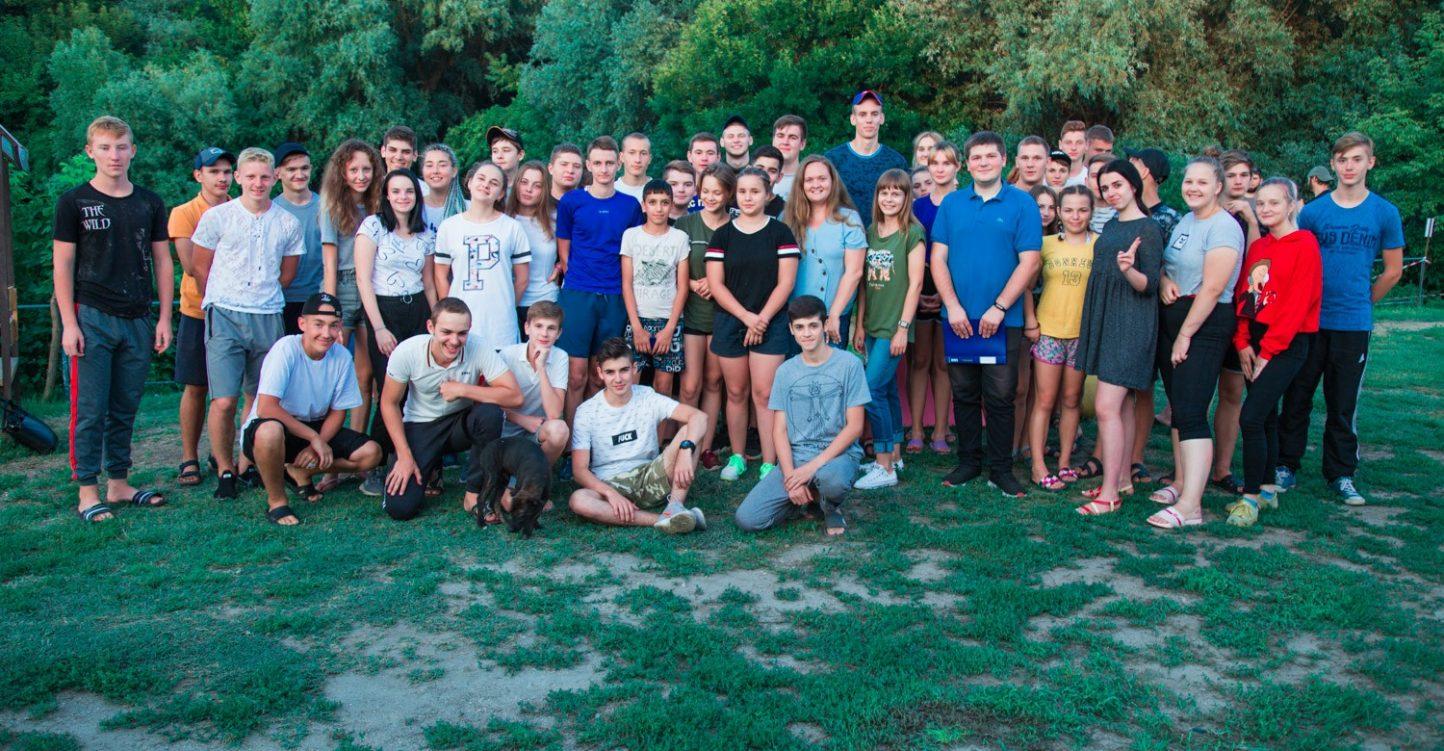 Гости в лагере «Славянская кругосветка»
