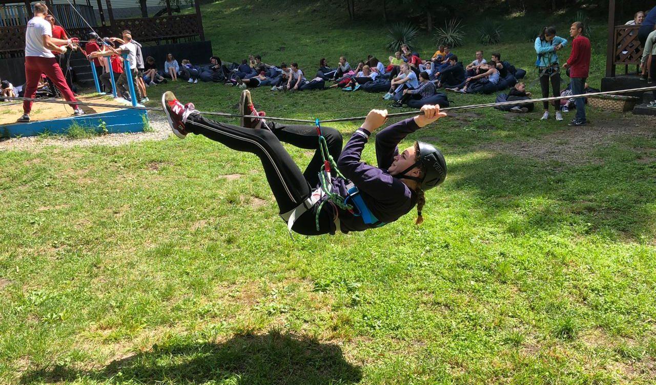 Соревнования по спортивному туризму и скалолазанию в Траектории