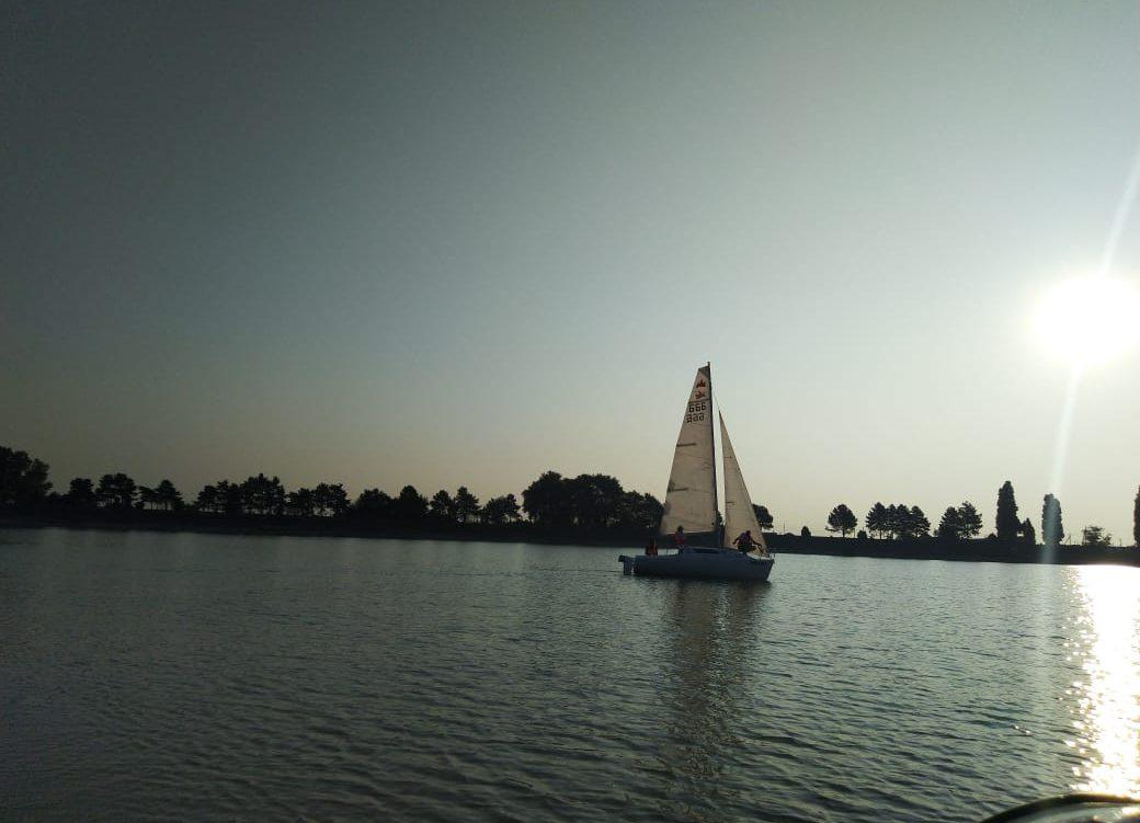В яхт-клубе «Парус» состоялся поход выходного дня