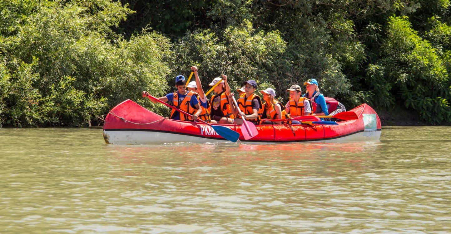 Завершилась первая смена водного лагеря похода «Славянская кругосветка»