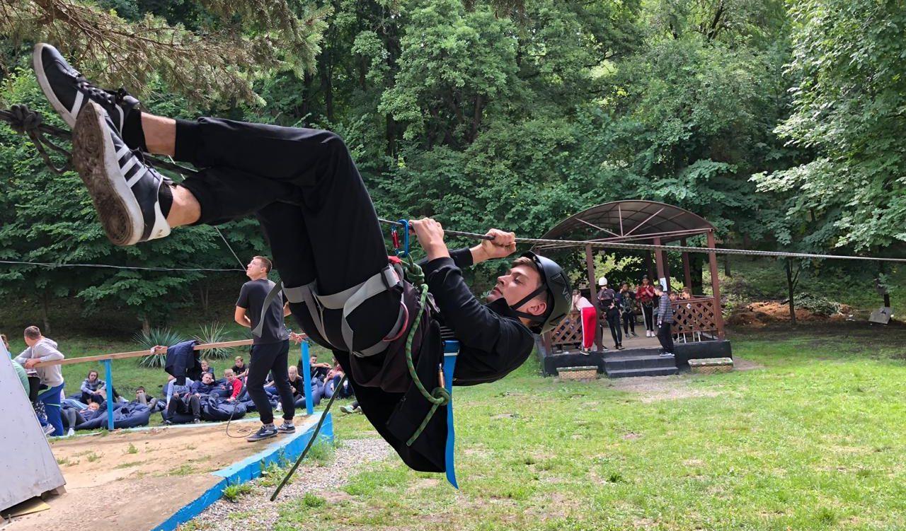 Дети лагеря «Траектория» самые активные