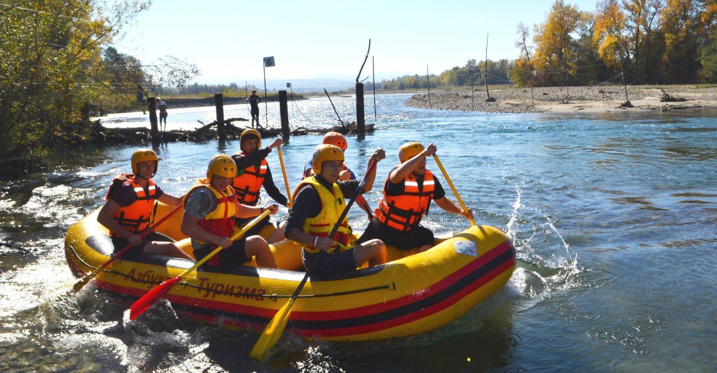 Напоминаем!!! Фестиваль водных видов спорта «Горная вода» с 16 по 20 октября.