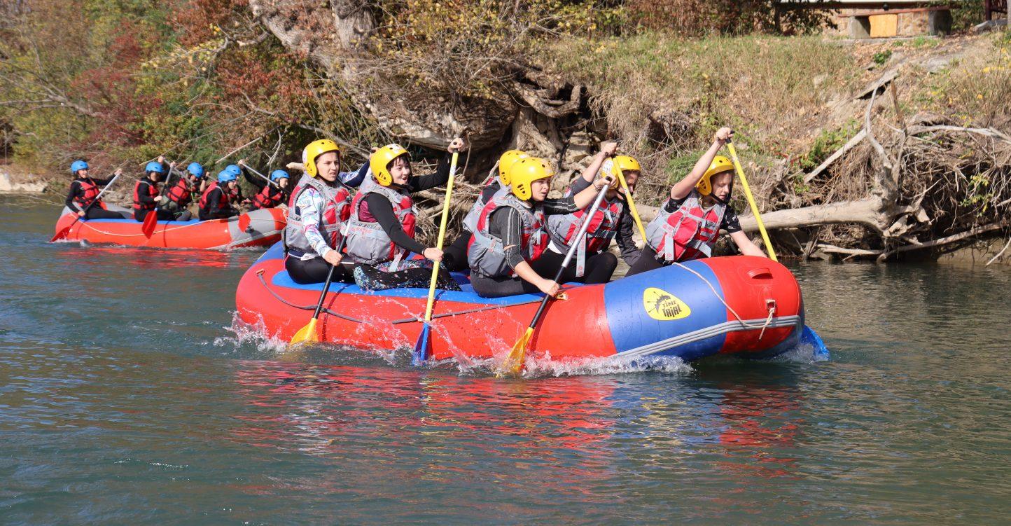 Краевые тренировочные сборы по водным видам спорта «Жаркая осень»