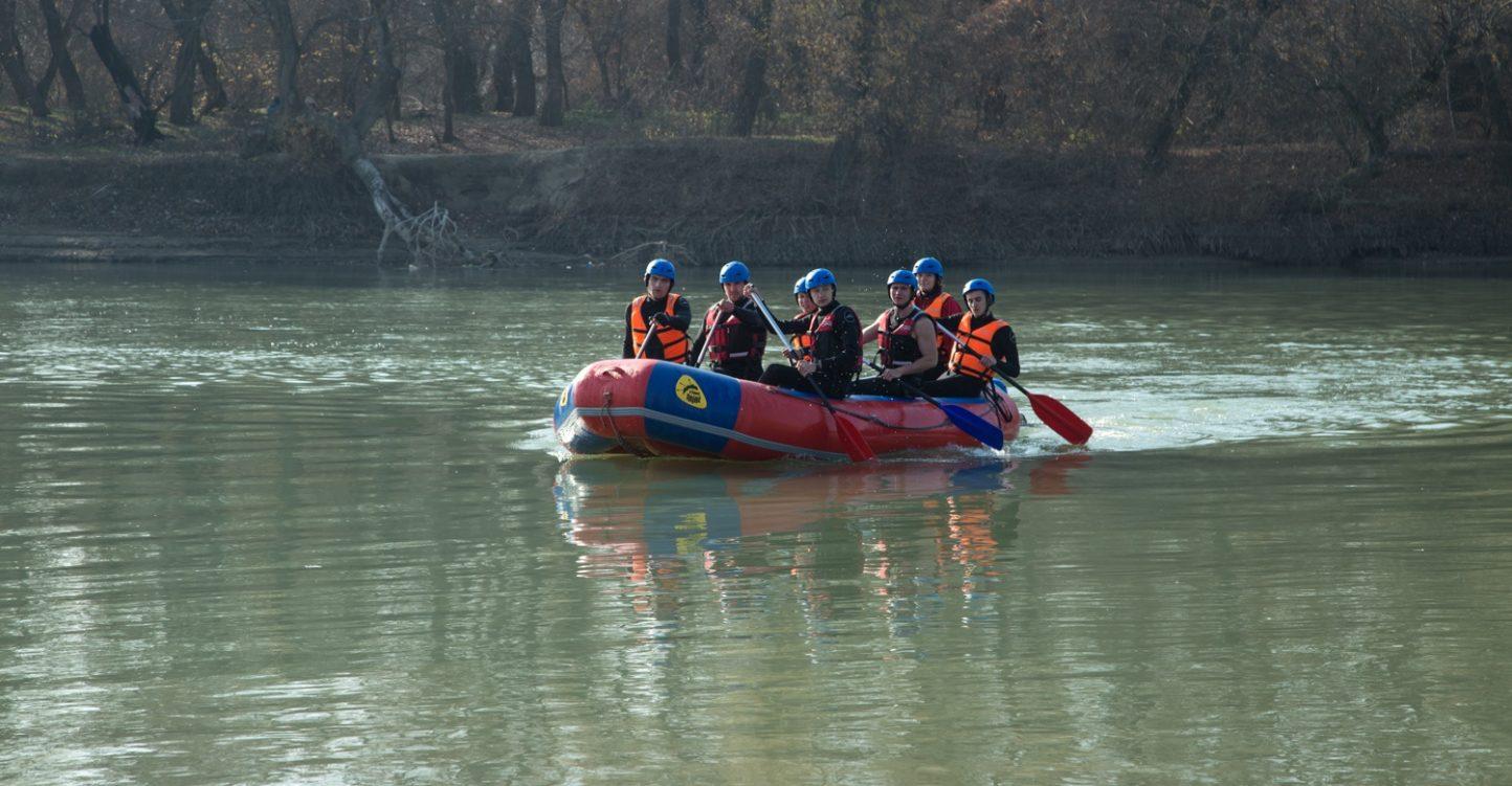 Тренировочные сборы по рафтингу и каякингу на реке Протока