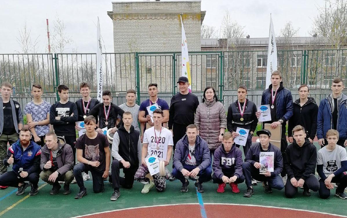 Стажировка по воркауту прошла 17 апреля в станице Пластуновская